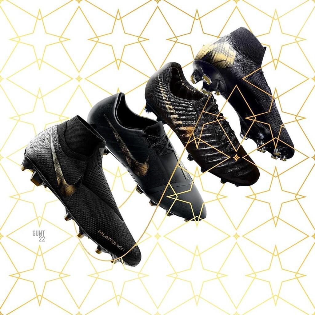 Melihat Lebih Dekat Paket Sepatu Bola  Black Lux  Baru dari Nike ... 9b04bb549e