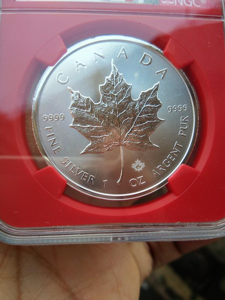 Koleksi Silver Coins atau koin perak murni