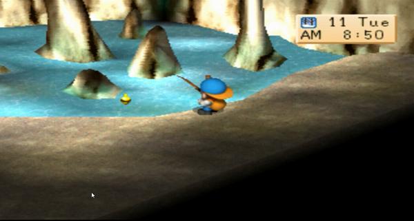 Ini Nih Tips Mancing Ikan Lejend di Harvest Moon BTN [Nostalgia]