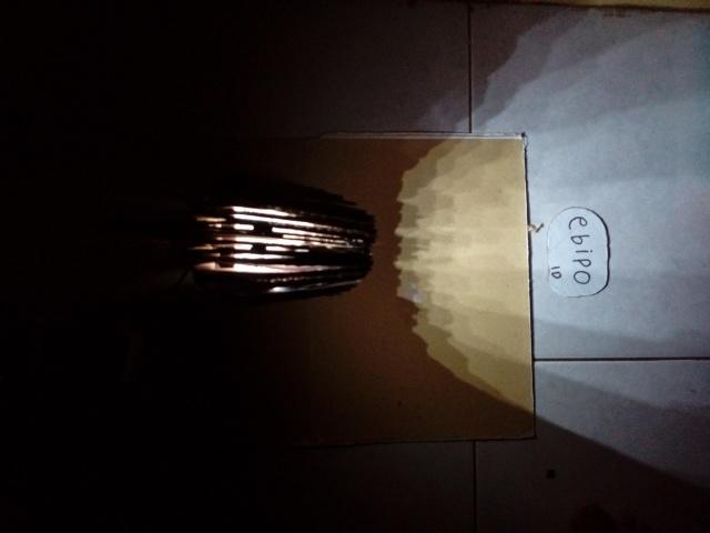 [COC DIY] Lampu Meja Belajar Dari Kardus & LED Bekas