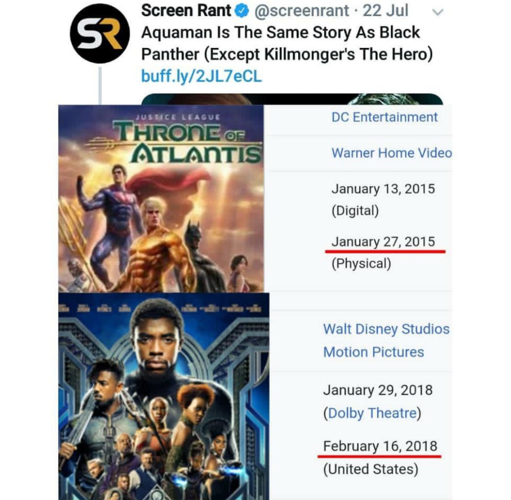 Akankah Film Aquaman Sebagus Trailer Terbarunya ?
