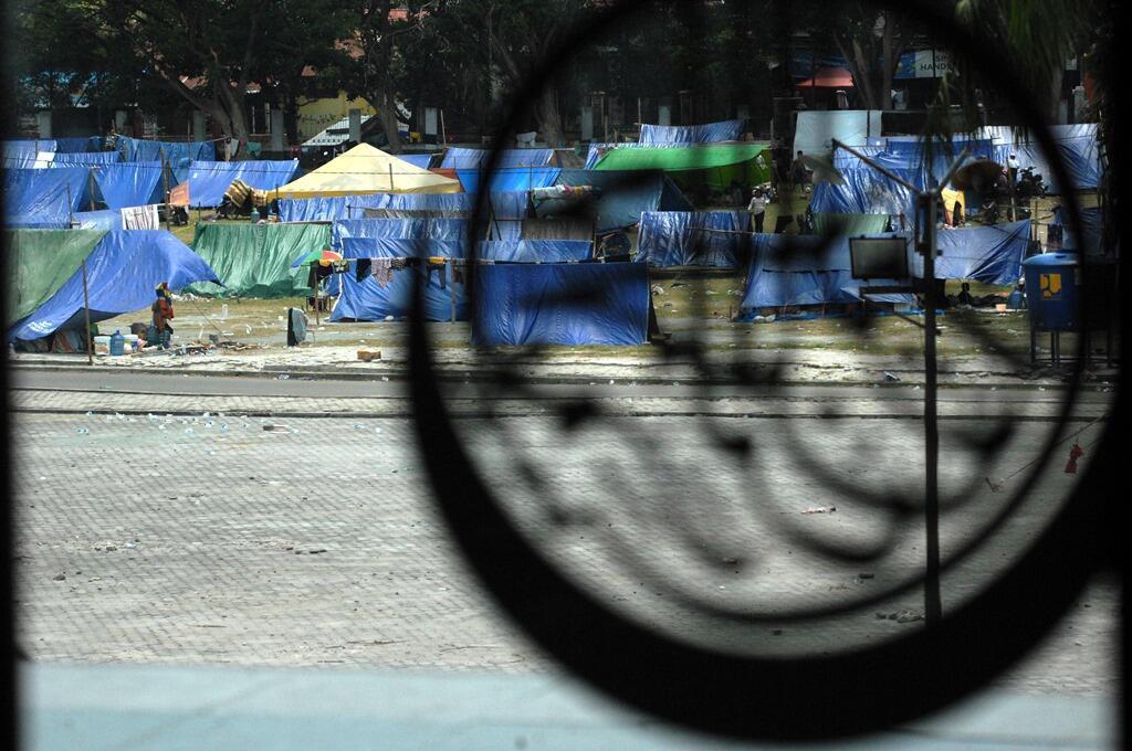 Jumlah Pengungsi di Sulteng Menurun