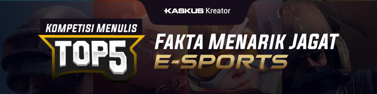 5 Fakta Perkembangan E-Sport Dari Dulu Sampai Sekarang!