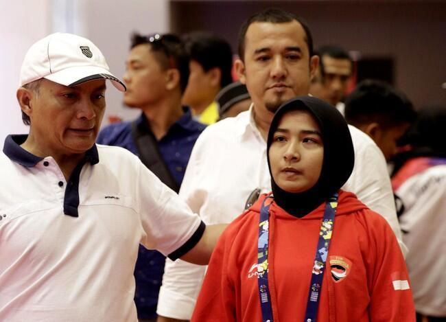 Tak Mau Buka Jilbab, Miftahul Jannah Didiskualifikasi dari Asian Para Games 2018