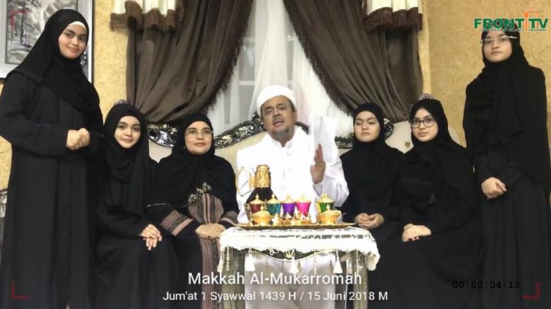 Hasil gambar untuk Putri Habib Rizieq Dilarang Masuk Oman, Ini Penjelasan KBRI