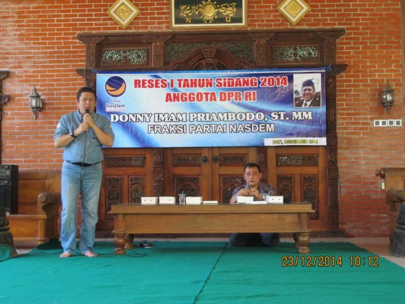 Donny Imam Priambodo dan Harapannya Pada Pilpres 2019