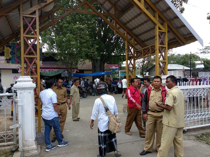 Aktivitas Kota Palu mulai menggeliat
