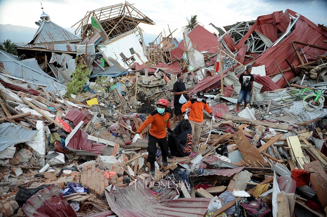 TNI: Korban Tewas Bencana Sulteng 1.944 Orang