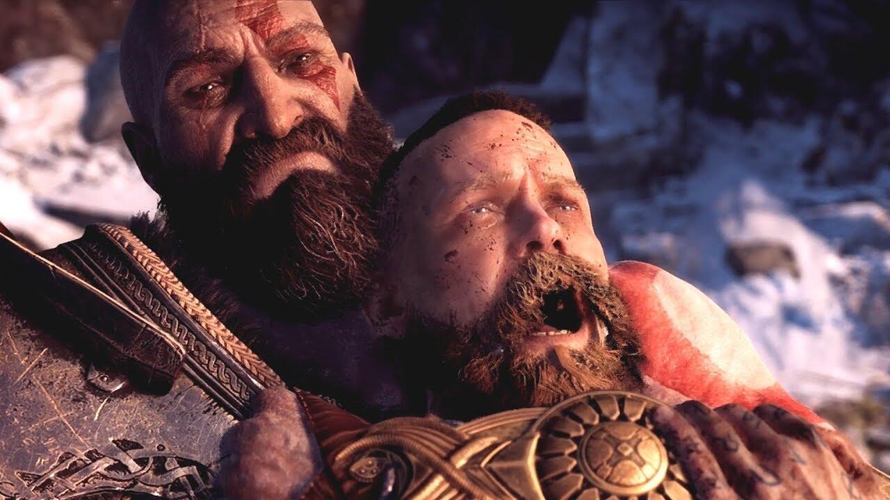 Khabib vs McGregor (Versi Live Action Kratos vs Baldur di God of War 2018)