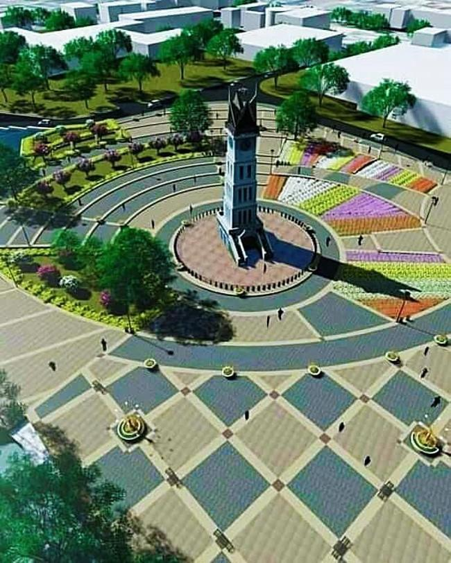 Walkot Bukittinggi Heran Desain Taman Jam Gadang Disebut Mirip Dajjal