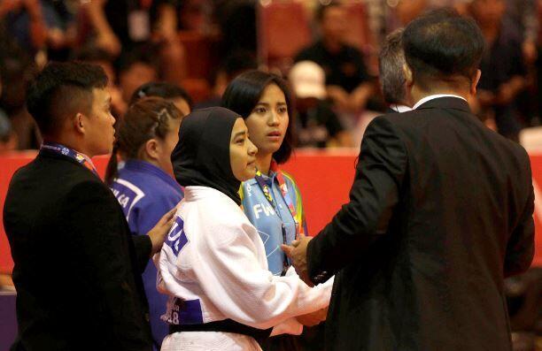 Atlet Judo Diminta Lepas Jilbab, Ini Penjelasan Lengkap INAPGOC