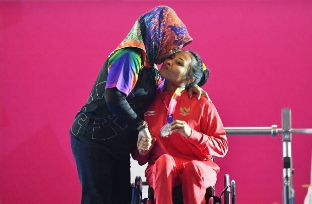 FOTO: Momen-Momen Mengharukan Sepanjang Asian Para Games 2018