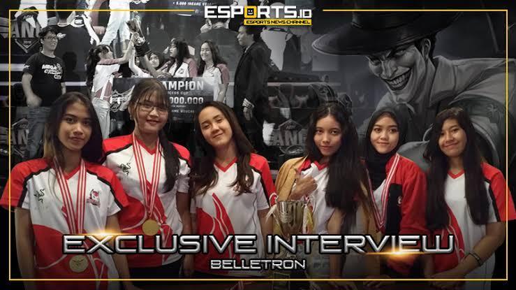 5 tim esport wanita indonesia