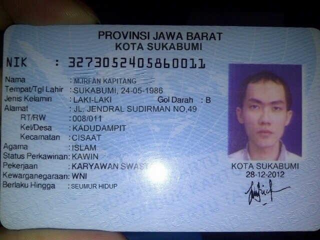M Irfan Kapitang