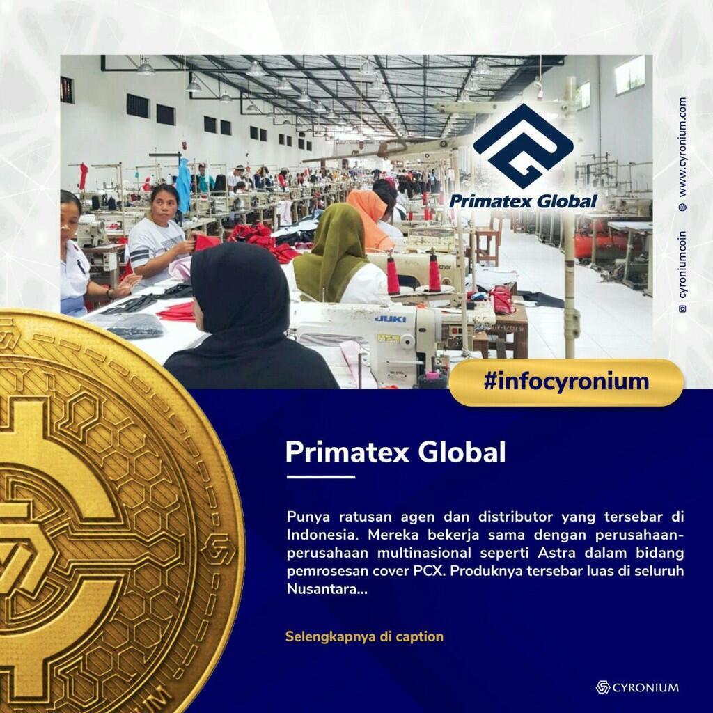 Scale Up Primatex Global - Cyronium