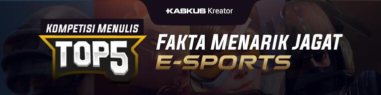 5 Fakta dan 5 Cara Agar eSports Indonesia Bisa Maju Pesat