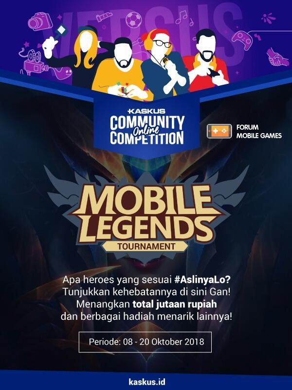 Siapakah yang akan menjadi kaskuser terhebat di Mobile Legends ? Merapat gan !