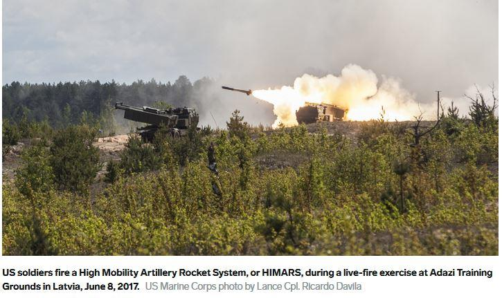 The Marines historic feat with the F-35 and the Corps' rocket artillery