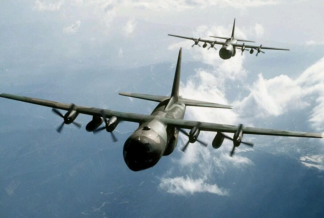 Pesawat Bomber Amerika Masuk Langit Kaltara