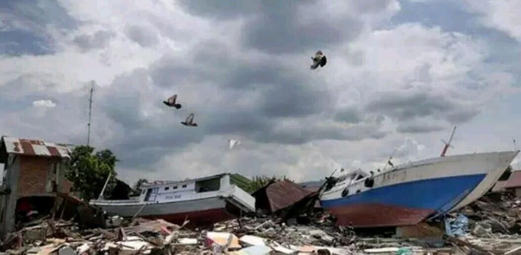 Banyak Kejadian Aneh sebelum Gempa dan Tsunami, Langit Palu Jadi Hitam