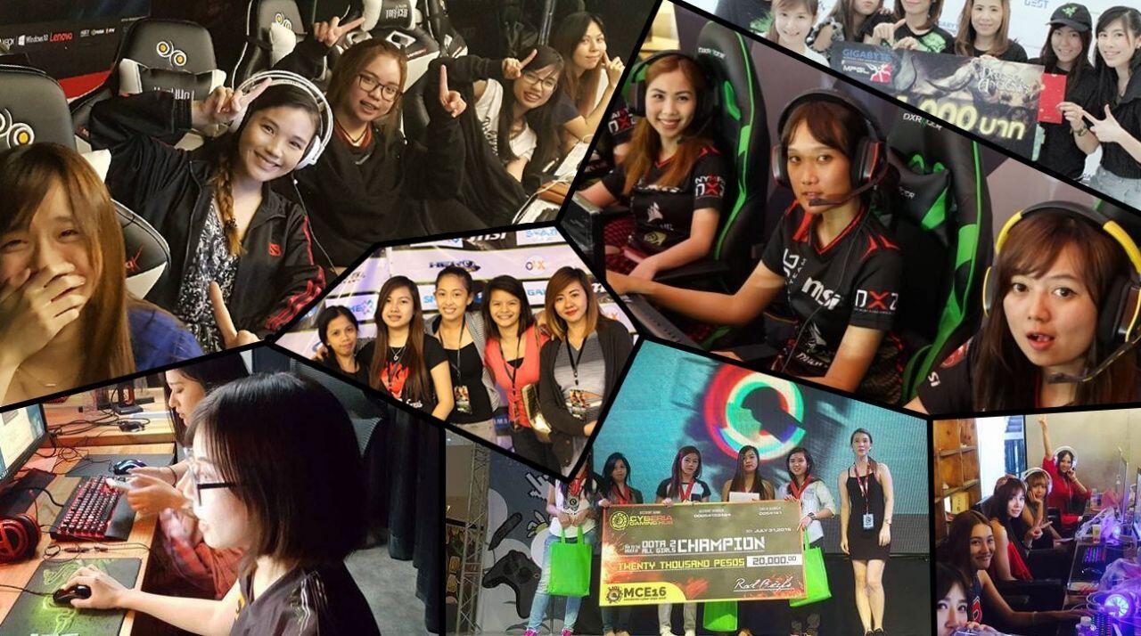 5 Game eSport Paling Banyak Diminati Kaum Ladies