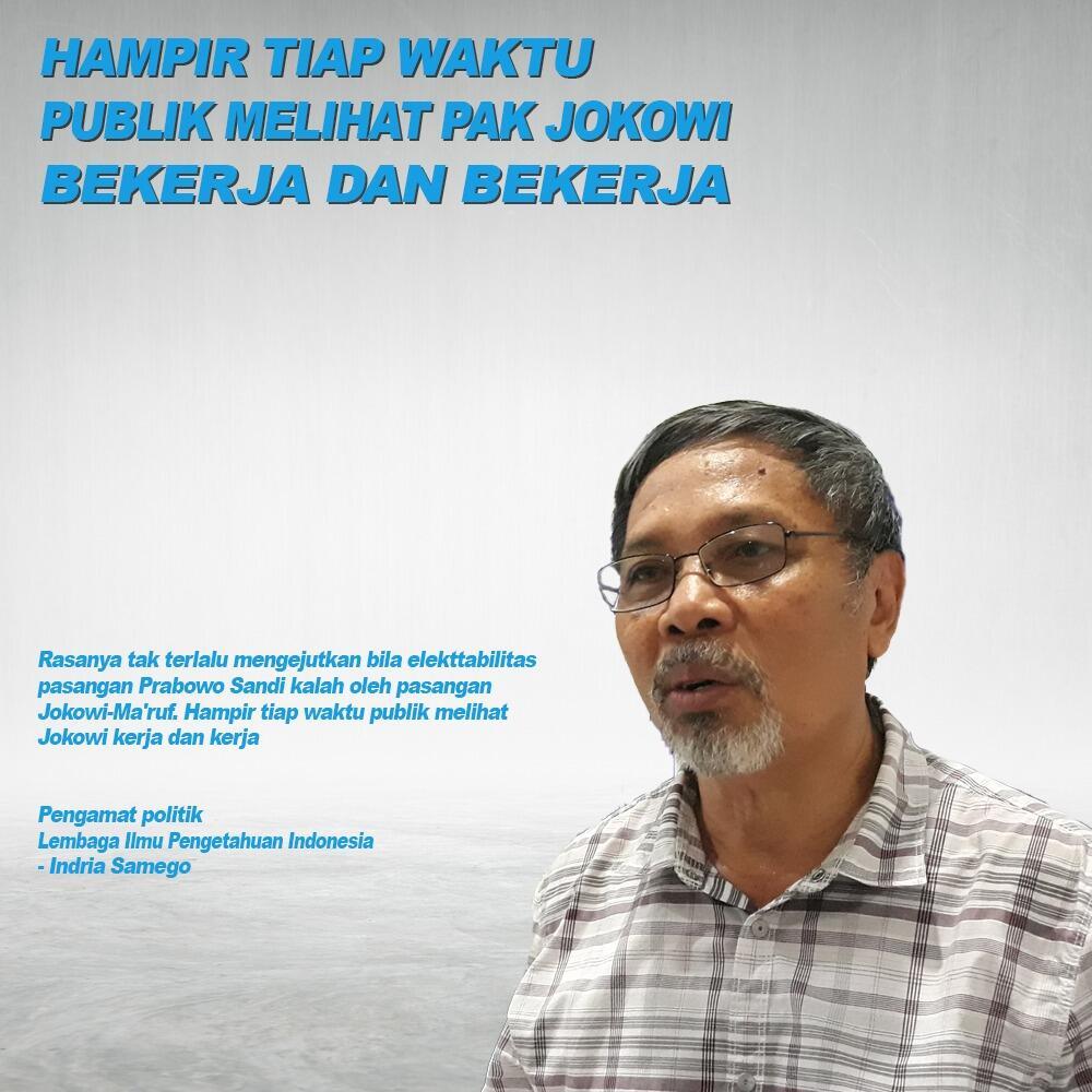 WOW! Hampir Tiap Waktu Publik Melihat Pak Jokowi Bekerja dan Bekerja