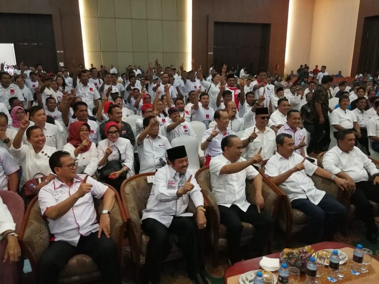 Banyak Kursi Kosong Begini Deklarasi Dukung Jokowi Di Pekanbaru Bangku Edited