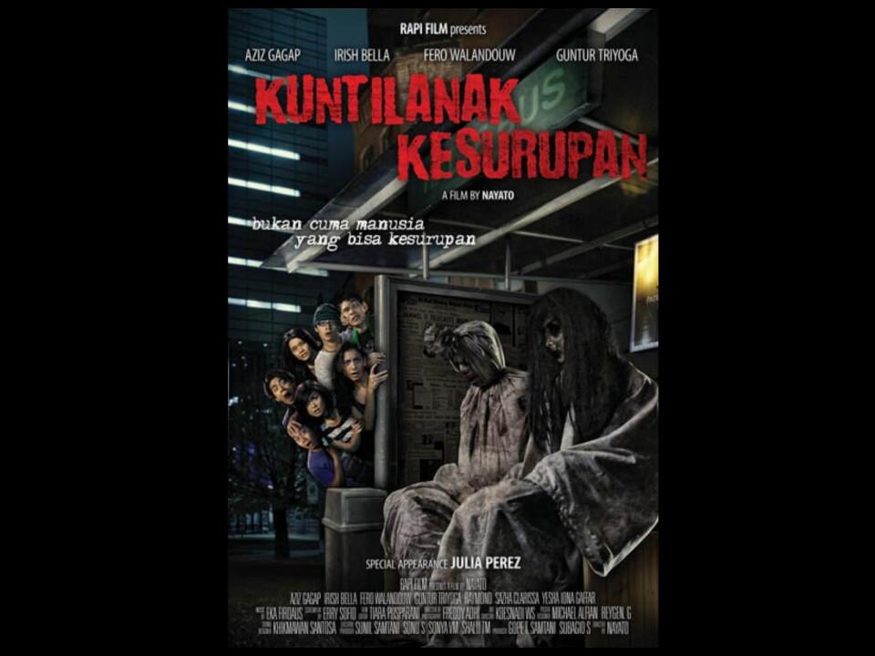 Ini Dia, 10 Film Horor Indonesia dengan Judul Menggelitik