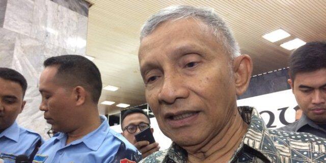 Amien Rais Bocorkan Kejanggalan Surat Pemeriksaan Polda Metro Jaya