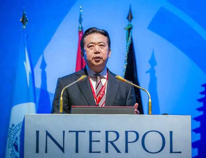 Teka-teki di balik penahanan presiden Interpol di Tiongkok