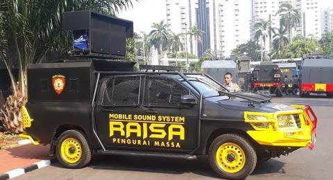 Mobil Raisa Ikut Disiagakan Sambut Amien Rais dan Massa 212