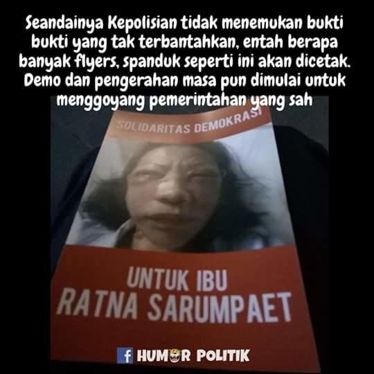 Perasaan Ratna Sarumpaet Tak Dijenguk Fadli Zon Cs