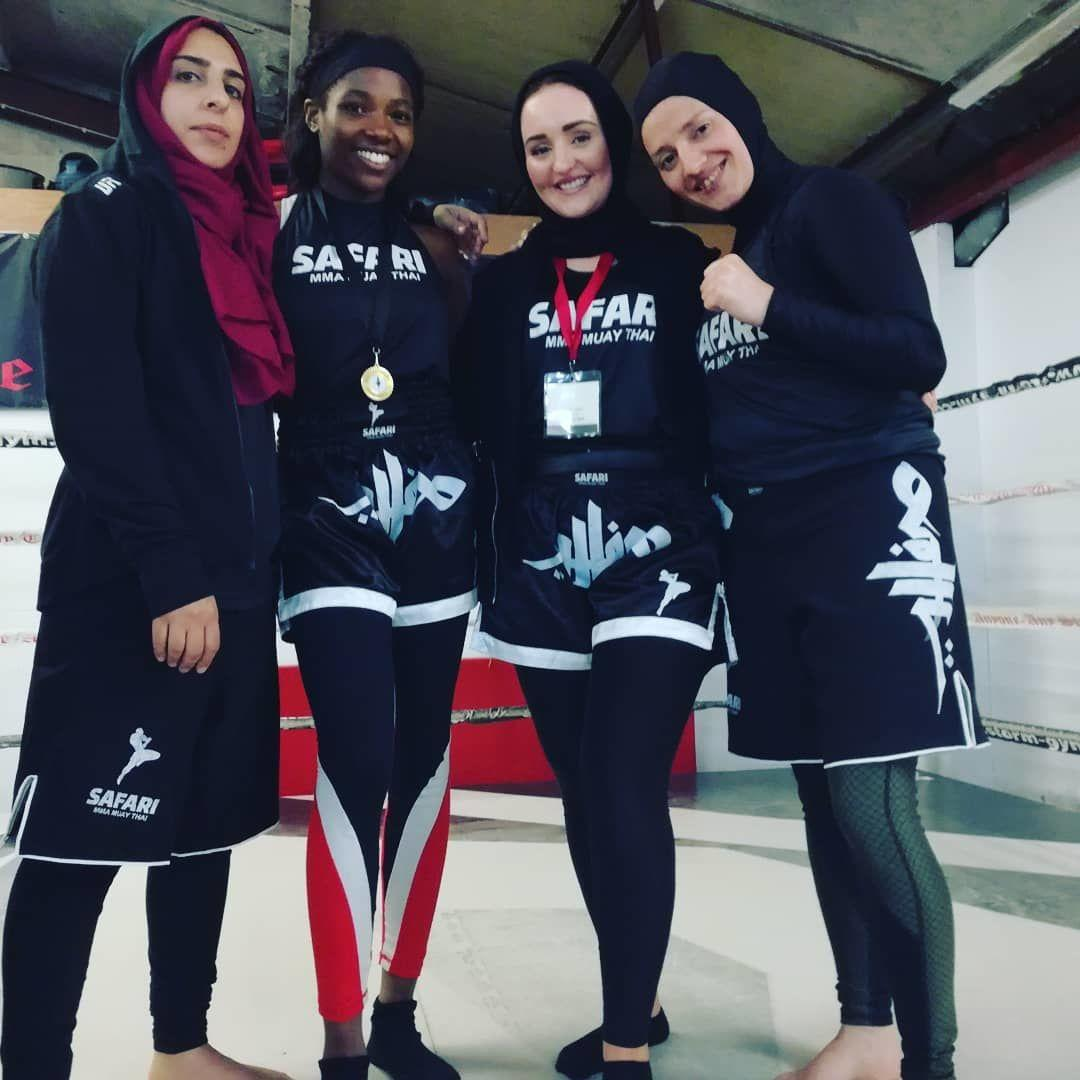 Kisah Khadijah, Hijaber Gigih yang Kembangkan Thai Boxing Muslimah