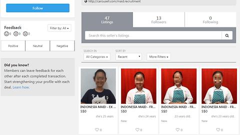 Singapura Proses Secara Hukum Agen yang Pasang Iklan TKI Online