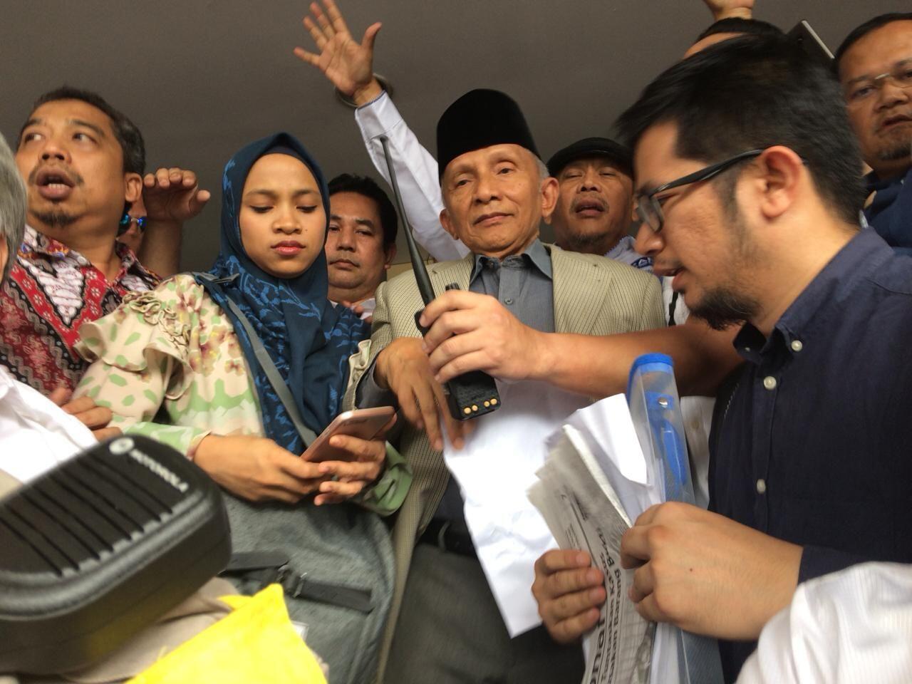 Amien: Ratna Ditangkap 4 Oktober, Surat Saya Tanggal 2, Ini Janggal!