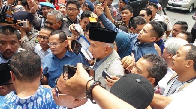 Amien Rais Minta Kapolri Tito Dicopot Karena Tidak Bersih dan Tidak Jujur