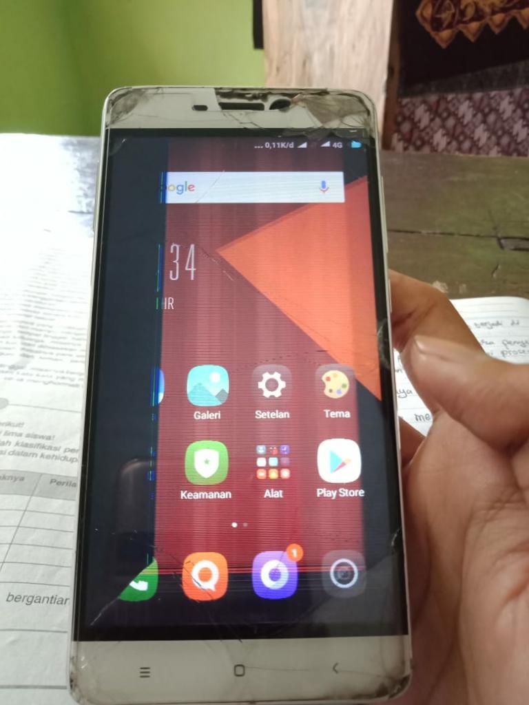 Berapa BENERIN LCD Xiaomi Redmi 4 Gan?
