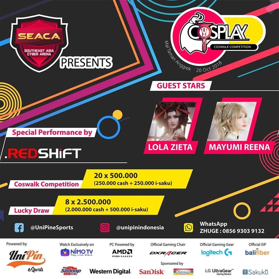 SEACA-WESG SEA TOURNAMENT|COSPLAY COMPETITION