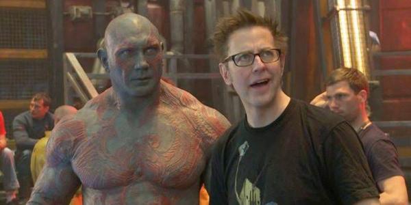 James Gunn Cabut ke DC, Dave Bautista Mau Nyusul