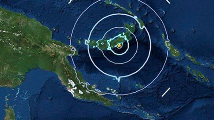 Setelah Beberapa Jam Gempa Situbondo, Gempa 7,0 SR Guncang Papua Niugini