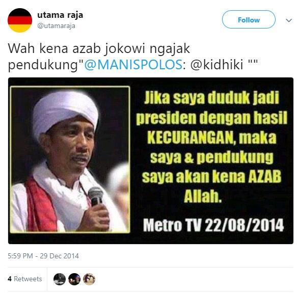 """(""""digital archive 2014"""") Apakah Jokowi Sedang Didera Janji dan Sumpahnya?"""
