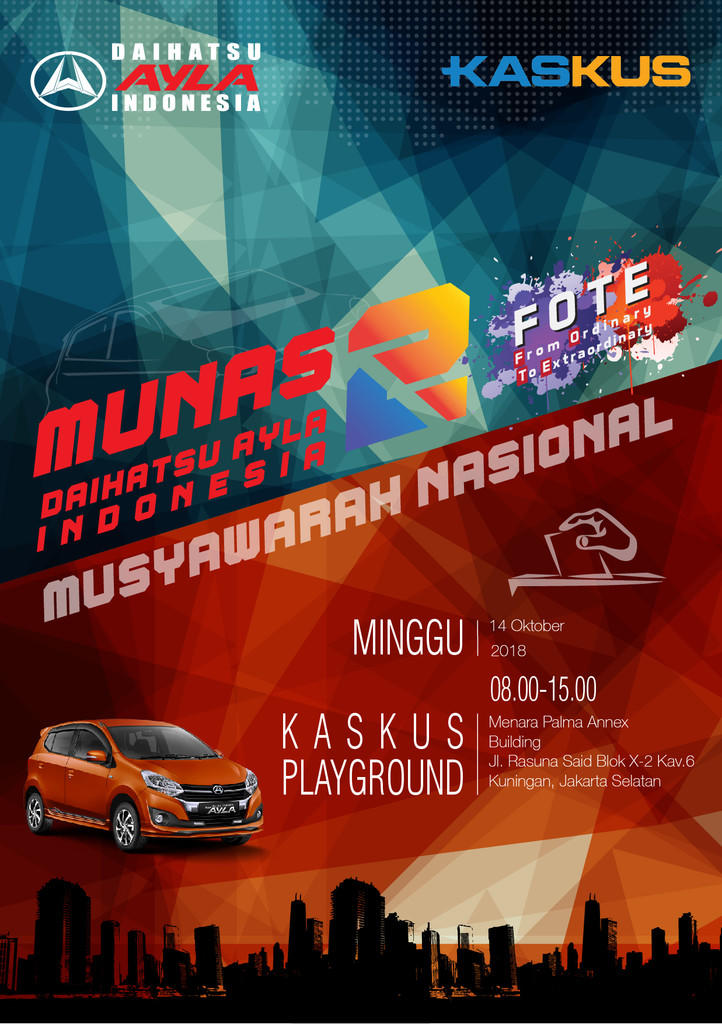 MUSYAWARAH NASIONAL 2 DAI (DAIHATSU AYLA INDONESIA 2018)