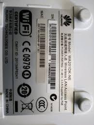 akses point wa201DK-NE Huawei