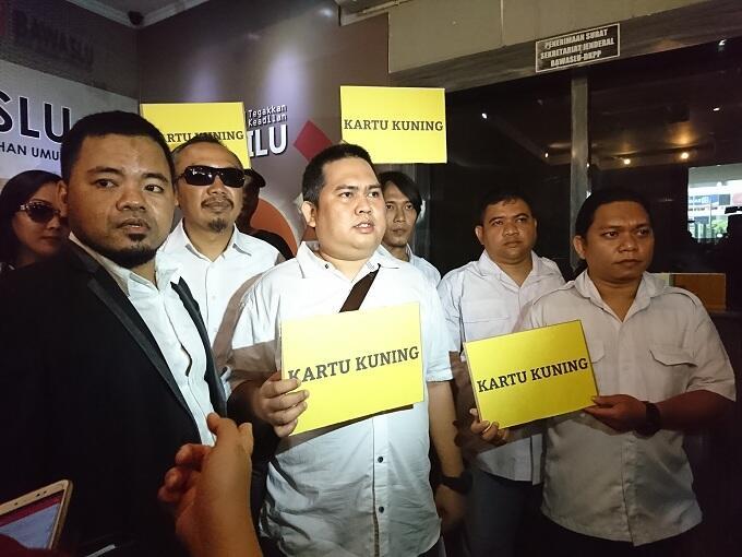 Pelapor Prabowo Dipanggil Bawaslu