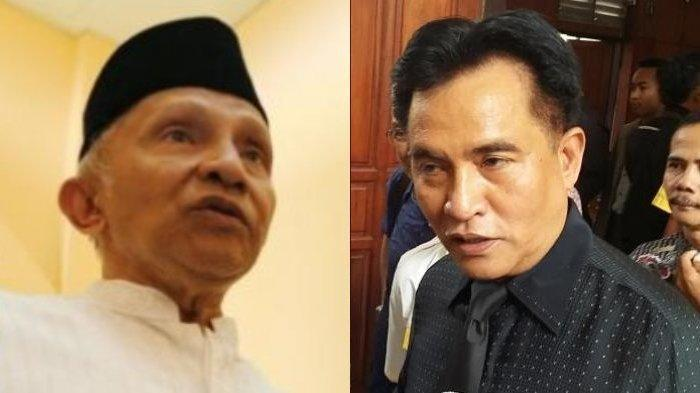 Desak Presiden Jokowi Copot Kapolri, Yusril Nilai Ucapan Amien Rais Mengada-ada