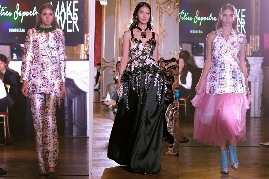 Indahnya Tata Rias Champagne Gold di Paris Fashion Week
