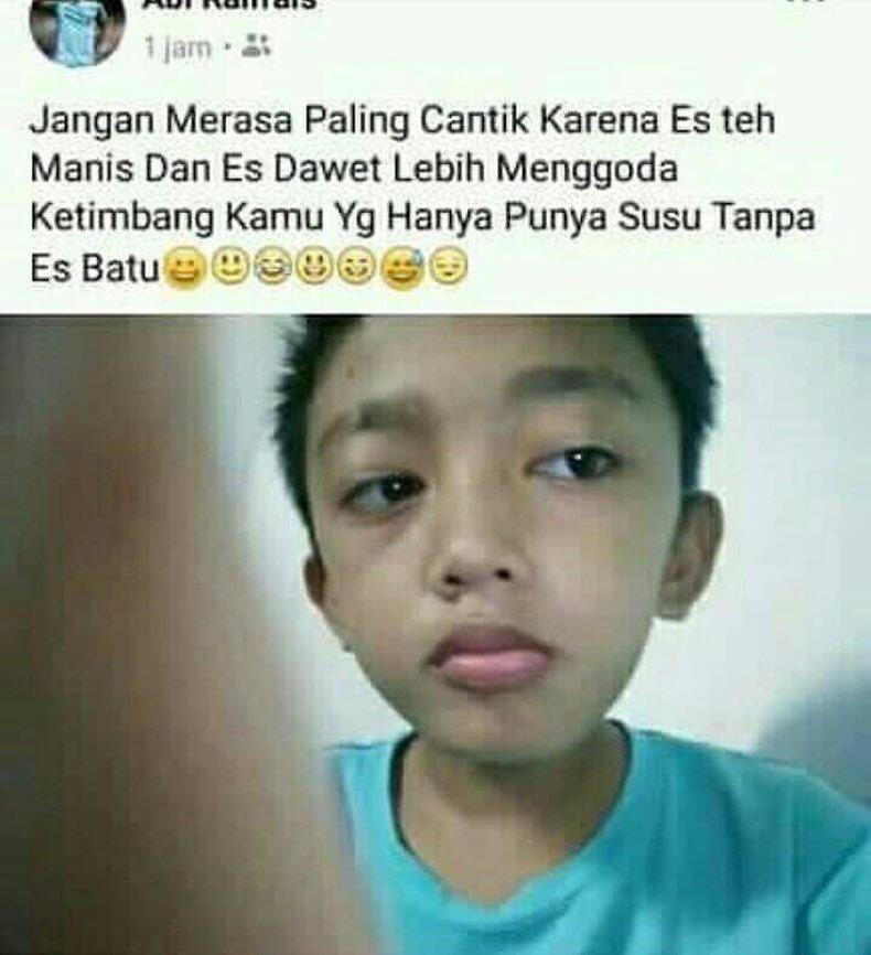 Tulis Status Menohok Soal 'Buah Dada', Bocah Ingusan ini Ramai Dikecam Netizen Cewek!