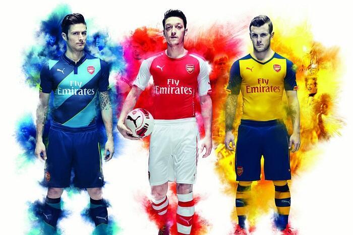 Rekam Jejak 15 Jersey Arsenal Bersama Puma Sejak 2014 Hingga 2019