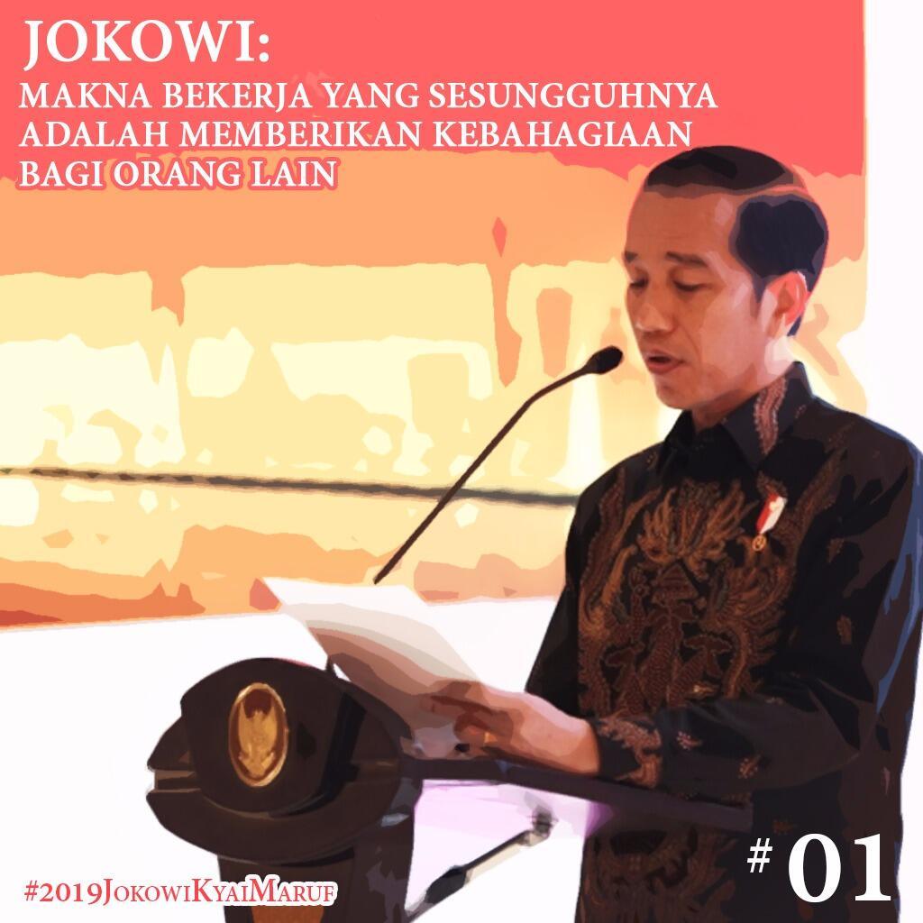 Di Hadapan Investor, Jokowi Jelaskan Tiga Makna Bahagia