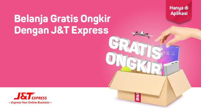 Promo Gratis Ongkir Bukalapak dengan J&T Express